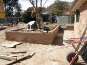 Theodore Renovation - DURING CONSTRUCTION - Outdoor Area